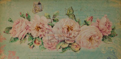 10734480-romantic-vintage-rose-background